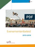 evenementenbeleid 2013-2018 01