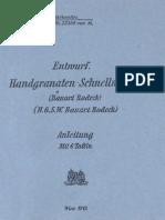 Enturf Handgranaten-Schnellwerfer