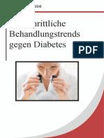 Fortschrittliche Behandlungstrends Gegen Diabetes