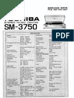 Toshiba Sm 3750