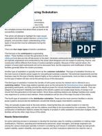 Budgeting and Financing Substation