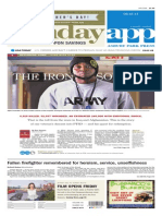 Asbury Park Press front page Sunday, June 15 2014