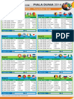 Jadwal Pialadunia 2014