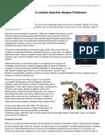 Bill Schnoebelen – Să vorbim deschis despre Pokémon