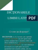 Latina Curs III Dictionar