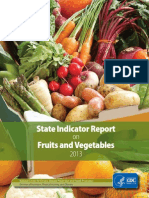 State Indicator Report Fruits Vegetables 2013