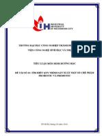 32-Tìm Hiểu Quy Trình Sản Xuất Một Số Chế Phẩm Probiotic Và Prebiotic