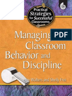 Managing Classroom Behavior & Discipline (Practical Strategies for Successful Classrooms)