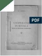 Cooperaţia în şcoală tratat de pedagogie cooperatistă