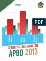 Deskripsi Analisis Apbd 2013 PDF-1