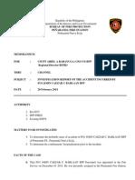 Fo1 Barlie Investigation Report