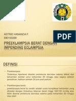 Preeklampsia Berat Dengan Impending Eclampsia