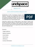 Soundspace Media Kit
