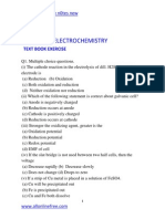 Chapter 10 Electrochemistry Text Book Exercise