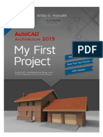 2015 - AutoCAD Tutorial Architecture Imperial version
