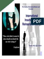 2. International Insurance & Reinsurance Market