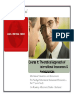 1. Theoretical Approach of Insurances