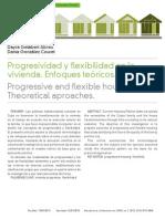 Progresividad y Flexibilidad en La Vivienda.enfoques Teoricos