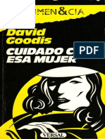 Cuidado Con Esa Mujer - David Goodis