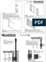 Quikwire Panel Instruction Sheets