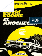 El Anochecer - David Goodis