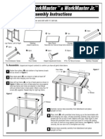 Alvin Workmaster Drafting Tables Assembly & Parts