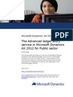 Advanced Ledger Entry Service in Microsoft Dynamics AX 2012 for Public Sector