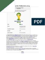Copa Mundial de Fútbol de 2014