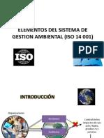 Elementos Del Sistema de Gestion Ambiental (Iso