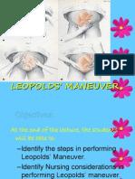 Leopolds Manuever
