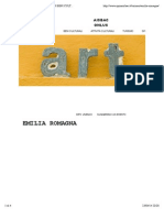 Emilia Romagna - Sponsorizzazione Di Beni Culturali - Aisbac Onlus