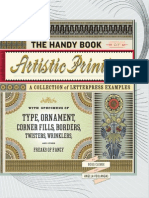 The Handy Book of Artistic Printing, Collection of Letterpress Examples