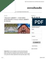 Italian Liberty | cercabando