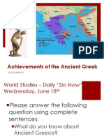achievements of ancient greeks ppt
