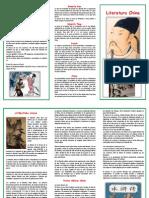 Triptico Literatura China