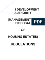 DDA (Management and Disposal of Housing Estates) Regulations 1968 (1)