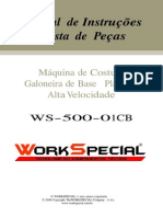 Manual Galoneira Ws 500 01CB