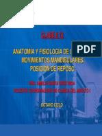 Clase 12 -Anatomia y Fisiologia de La Oclusion- Amelia s.c.