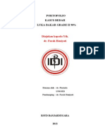 Presentasi Kasus - Florinda - Bedah - Luka Bakar Grade II 90%