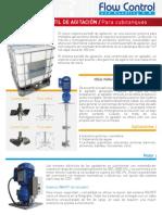 Indostra Flow Control Sistema Portatil Agitacion BULK DRUM