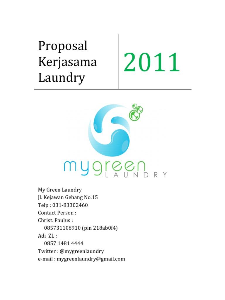 Contoh proposal kerjasama laundry altavistaventures Gallery