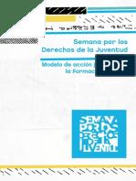 Revista Semana Por Los Derechos de La Juventud 2014