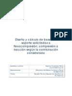 Bases de Soporte a Flexocompresión-compresión y Tracción