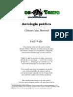 Antología Poética,,G. de Nerval