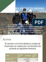 Diapositivas Del Informe Del PROYECTO MINERO TUNSHO