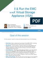 Install & Running an EMC VNX VSA v2.0