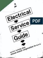 Service Manual Datsun Electrical Service Guide