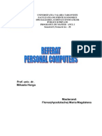 Referat Personal Computers