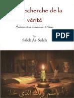 À la recherche de la vérité Salman et sa conversion à l'Islam