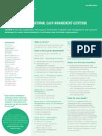 Factsheet ICM